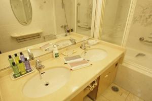Een badkamer bij Sakan