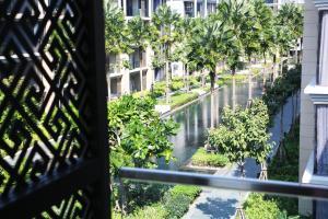 A balcony or terrace at Baan Mai Khao