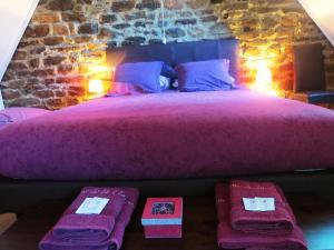 Un ou plusieurs lits dans un hébergement de l'établissement Domaine de la Clauzade