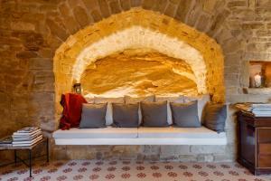 Coin salon dans l'établissement Heredad Beragu Hotel- Adults Only