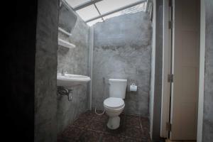 A bathroom at The Pier