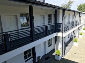 Balkon lub taras w obiekcie Hotel Alicja