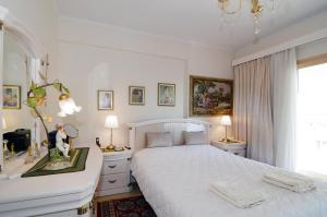 Letto o letti in una camera di Luxurious Big Apartment