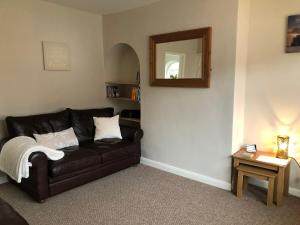 A seating area at Comfortable House in Warwick