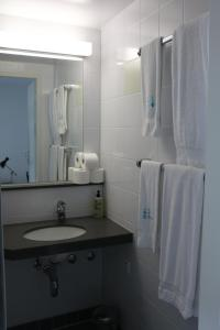 A bathroom at 1820 Guest House