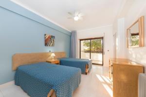 Een bed of bedden in een kamer bij Be Smart Terrace Algarve