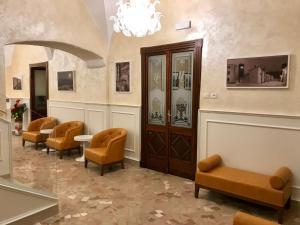 Lobby/Rezeption in der Unterkunft Hotel Ristorante Combolo