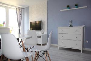 Jadalnia w apartamencie