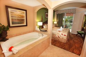 A bathroom at Mizner Place at Weston Town Center