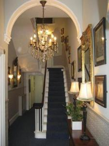 The lobby or reception area at The Queensbury Hotel