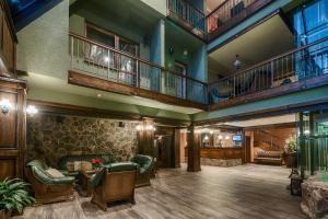 The lobby or reception area at Wellness Hotel Borovica