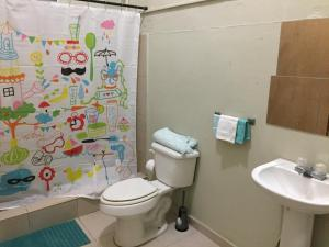 A bathroom at Apartment safe and quiet near to airport