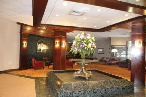 The lobby or reception area at The Avalon Hotel and Conference Center