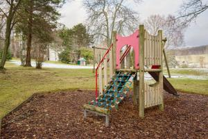 Children's play area at Douneside House