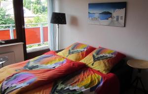 A bed or beds in a room at Cologne Apartment – City, Trade Fair, E-Werk
