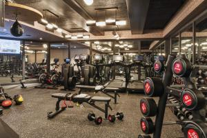 The fitness center and/or fitness facilities at San Francisco Proper Hotel, a Member of Design Hotels