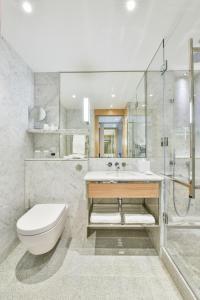 A bathroom at Royal Lancaster London