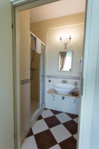 Łazienka w obiekcie Villa Estera - Hotel & Restauracja
