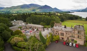 A bird's-eye view of Armathwaite Hall Hotel & Spa