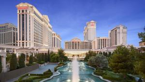 The swimming pool at or near Caesars Palace Hotel & Casino