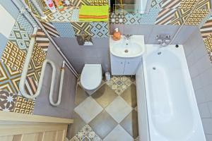Ванная комната в RentalSPb Sweet Home на Московском проспекте