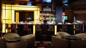 The lounge or bar area at Planet Hollywood Resort & Casino