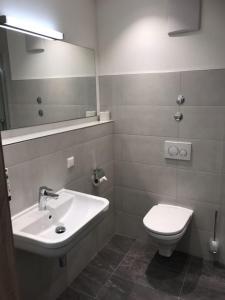 A bathroom at Küffner Hof