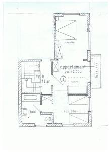 Grundriss der Unterkunft Hotel Weingut Schützen