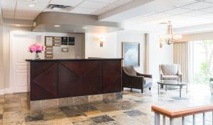 The lobby or reception area at Canterra Suites Hotel