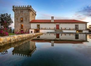The swimming pool at or near Hotel Torre de Gomariz Wine & Spa