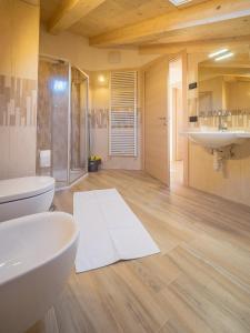 Koupelna v ubytování Apartments & Rooms MyHolidayLivigno