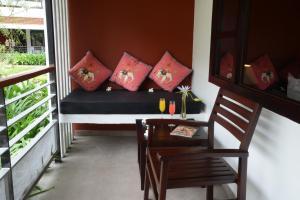 A seating area at Bagan Star Hotel