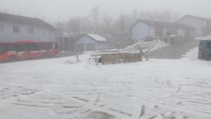 Penzión Lindava v zime