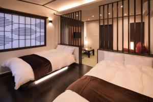 치쿠고가와 온센 기요노야 객실 침대