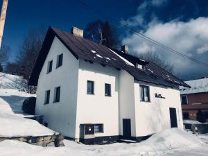Chata Hella v zimě