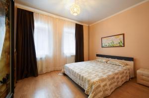 Кровать или кровати в номере Дом для отпуска Вилла Ефимия
