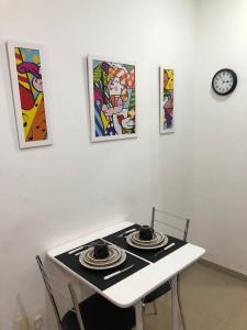 A cozinha ou cozinha compacta de Apartamento Nossa Senhora Posto 4