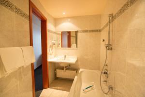 Een badkamer bij Hotel Rubens