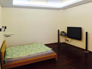 A bed or beds in a room at Apartment Central Park