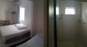 A bathroom at Hotel Prime