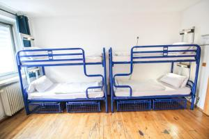 A bunk bed or bunk beds in a room at THE 4YOU Hostel & Hotel Munich