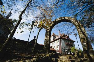Старый замок зимой
