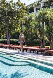The swimming pool at or near Capri Palace Jumeirah