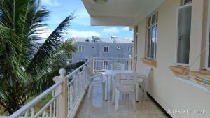 A balcony or terrace at Alpha Villa