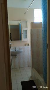 A bathroom at Alpha Villa