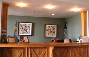 The lobby or reception area at Altos Ushuaia Hotel & Resto