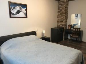 Кровать или кровати в номере Northern Lights