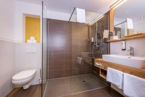 Ein Badezimmer in der Unterkunft Mountain Resort M&M
