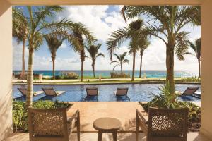 The swimming pool at or near Hyatt Ziva Cancun