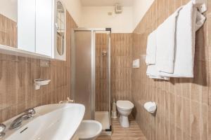 A bathroom at Albergo Cinzia